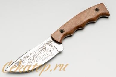 """Нож """"Караколь"""" (клинок с рисунком) Кизляр, Россия"""