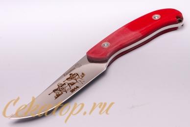 Нож «Касатка 2014 Биатлон» (красный) Кизляр