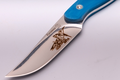 Нож «Касатка 2014 Прыжки на лыжах» (синий) Кизляр