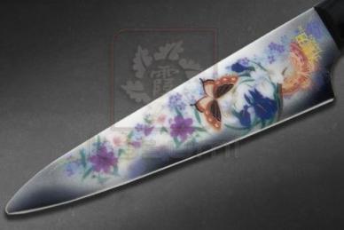 Нож универсальный керамический Chou No Mai Pearl Gray Minova