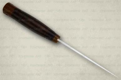 "Нож ""Хазар"" (95X18, наборная кожа) АиР (Златоуст)"