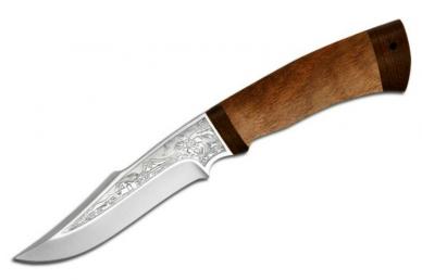 """Нож """"Хазар"""" (95X18, орех) АиР (Златоуст)"""