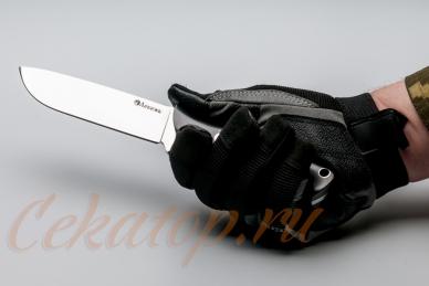 Нож Храбрый (сталь 440C) Лебежь, хват снизу