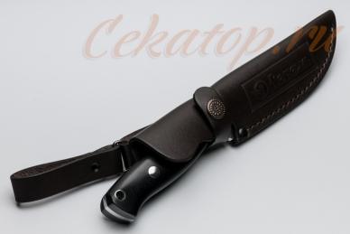 Нож Храбрый (сталь 440C) Лебежь, ножны