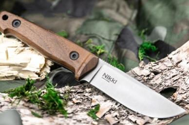 Нож Nikki (AUS-8, орех) Kizlyar Supreme