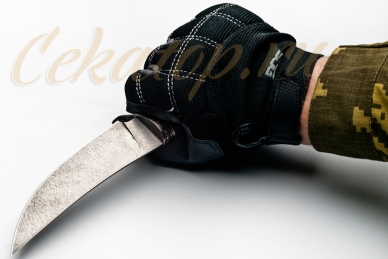 Нож Клык (литой булат) Алексей Фурсач (Ворсма), Россия, клинок