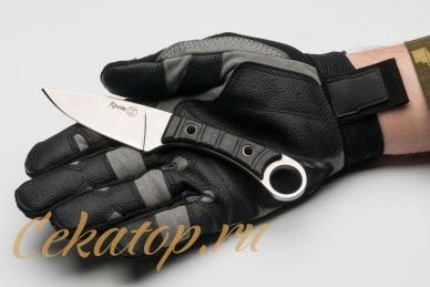 Нож разделочный Крот, Кизляр, в ладони