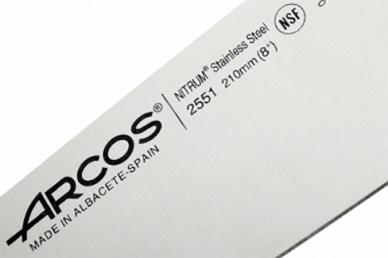 Нож поварской 21 см серии Clasica, ARCOS, логотип