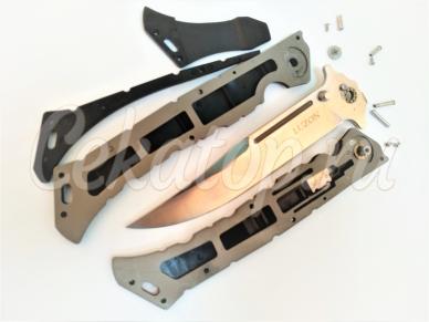 Нож Luzon Cold Steel разобран