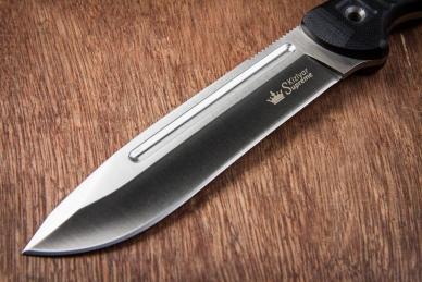 Практичный нож Maximus (AUS-8, Satin+Stonewash) Kizlyar Supreme