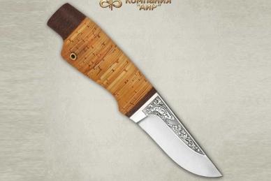 """Нож """"Нерпа"""" (95Х18, береста) АиР"""