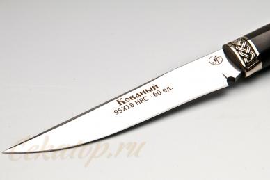 Нож Осетр (95Х18) Алексей Фурсач (Ворсма), клинок