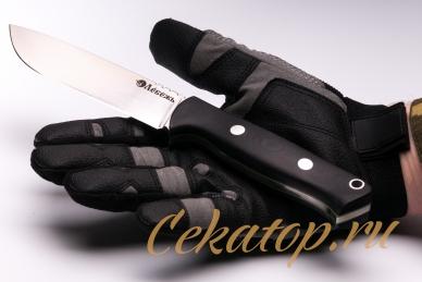 Нож «Отважный 1917» (сталь N690) Лебежь