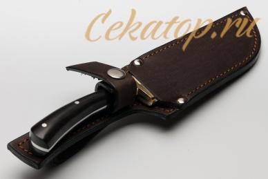 """Нож """"Пчак"""" (сталь 95Х18) Лебежь, ножны"""