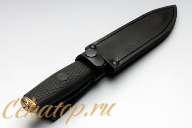 """Нож """"Пограничник-2"""" (черный клинок) Кизляр"""
