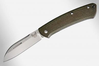 Нож складной Proper (Green Micarta) Benchmade, США