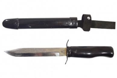 Нож разведчика (образца 1940 г.) и ножны Пашихинъ, Россия