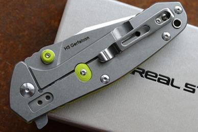 Нож H5 Gerfalcon (fruit green) Real Steel