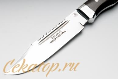Нож Рекс (95Х18, полный хвостовик) Алексей Фурсач клинок