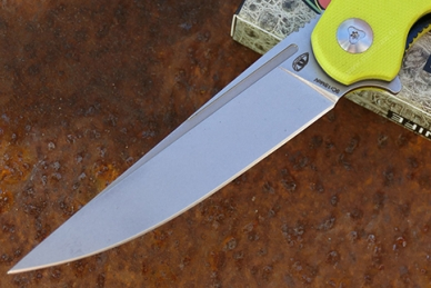 Нож «Кавалер» (lime) Reptilian