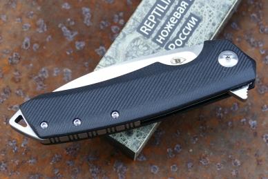 Нож складной «Шершень-3» (black) Reptilian