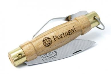 Удобный нож складной с вилкой MAM