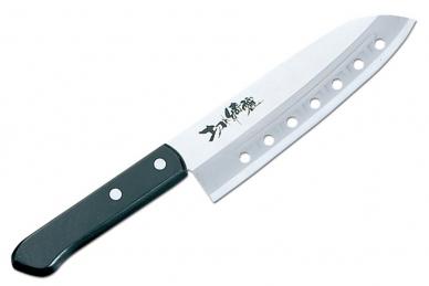 Нож Сантоку Rasp Series 165 мм (сталь Sus420J2, пластик) FA-63 Tojiro, Япония