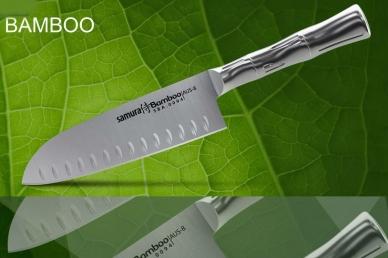 Нож Bamboo Samura Сантоку SBA-0094