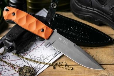 Нож Severus (D2 Tacwash) Kizlyar Supreme