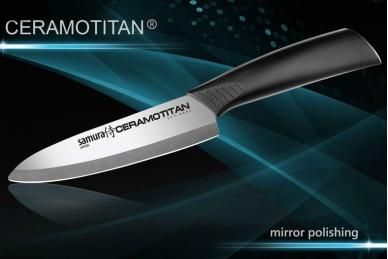 Нож Шеф 145 мм Ceramotitan Samura SCT-0082