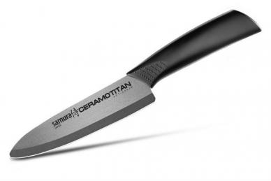 Нож Шеф 145 мм матовый SCT-0082m Ceramotitan Samura