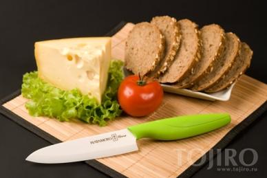 Нож шеф Hatamoto Home HC150W-GRN. Производитель: Хатамото, Япония