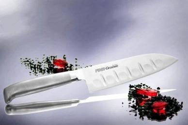 Прочный нож Шеф Narihira 170 мм (сталь Мо-V, рукоять сталь) FC-341 Tojiro