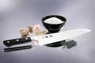 Стильный нож Шеф Narihira 240 мм (сталь Мо-V, рукоять ABS-пластик) FC-44 Tojiro