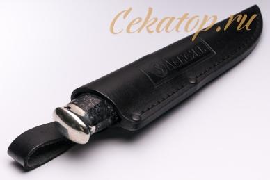 Нож «Швед» (сталь N690) Лебежь, ножны