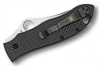 Складной нож Bradley (HSS CPM M4) Spyderco, сложен