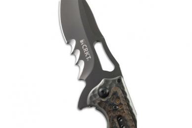 Нож Fossil Black Veff Serrations CRKT, США