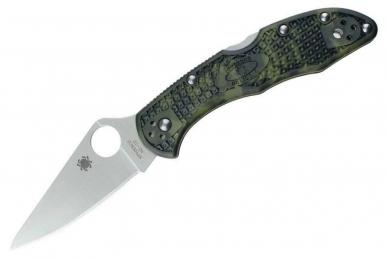 Складной нож Delica 4 Lightweights (VG-10, Zome) Spyderco