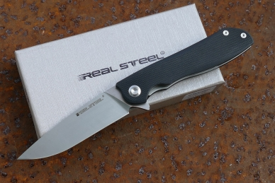 "Нож E801 ""Megalodon"" (black) Real Steel"