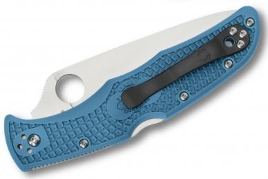 Складной нож Endura 4 Lightweights (VG-10, Blue FRN) Spyderco, сложен