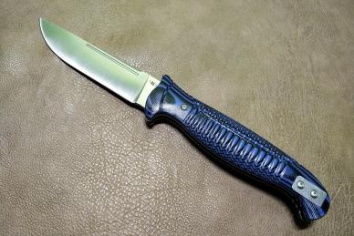 """Нож складной """"Финка-03"""" Reptilian"""