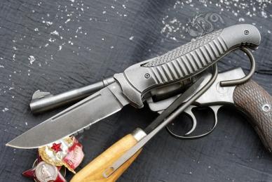 Нож складной «Финка-1 Premium» Reptilian, КНР