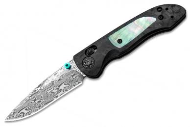 Складной нож Foray (сталь Damasteel Loki) Benchmade