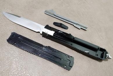 Внутреннее устройство ножа MIC-02 Steelclaw