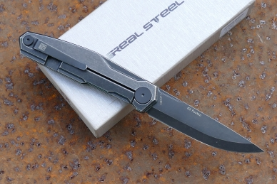 Нож складной G3 «Puukko» (blackwash) Real Steel