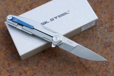 "Нож складной G3 ""Puukko"" (duplex) Real Steel"