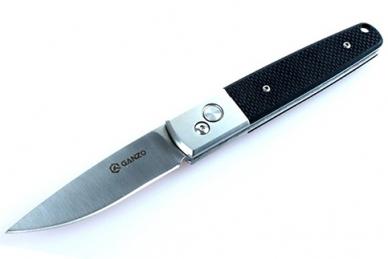 Нож складной G7211 (черный) Ganzo
