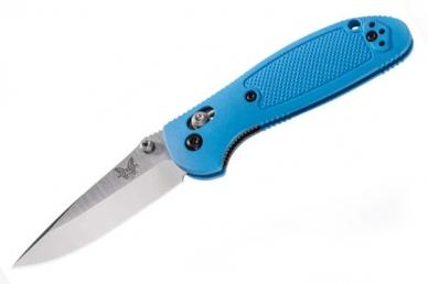 Нож складной Mini Griptilian Blue (сталь 154СМ) Benchmade, США
