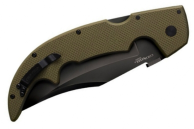 Складной нож Large G-10 Espada Cold Steel, сложен