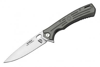 Складной нож Майор Т (сталь D2, титан) НОКС